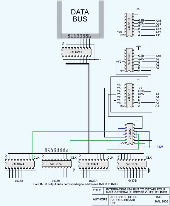 Interfacing With The Isa Bus Lg  124