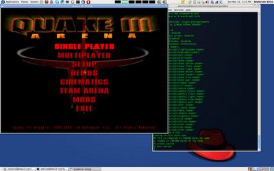 Running Quake 3 and 4 on Fedora 12 (64-bit) LG #172